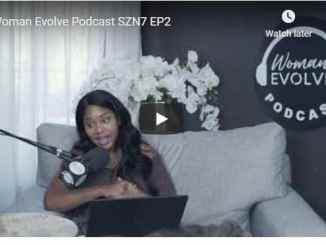 Woman Evolve Podcast Season 7 Episode 2 - Sarah Jakes Roberts