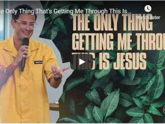 Chad Veach - The Only Thing That's Getting Me Through This Is Jesus