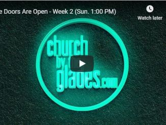 Church By The Glades Sunday Live Service September 27 2020