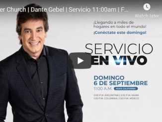 Dante Gebel Sunday Live Service September 6 2020