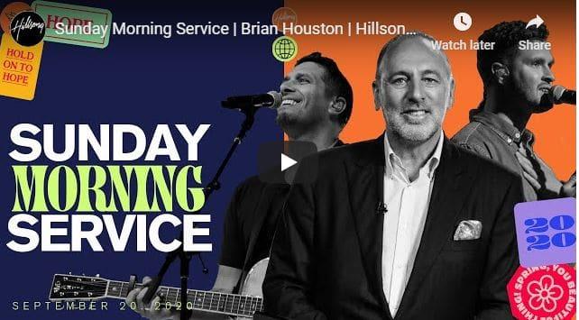 Hillsong Church Live Service September 20 2020