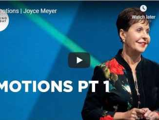 Joyce Meyer - Emotions