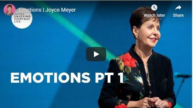 Joyce Meyer - Emotions