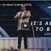 Pastor John Gray - It's About To Break - September 23 2020
