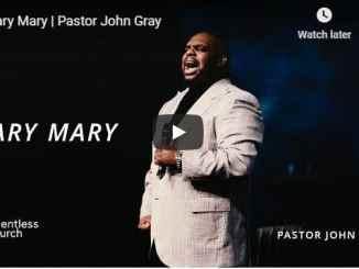 Pastor John Gray - Mary Mary - September 4 2020