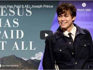 Pastor Joseph Prince - Jesus Has Paid It All - September 2020