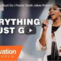 Pastor Sarah Jakes Roberts - Everything Must Go - September 2020
