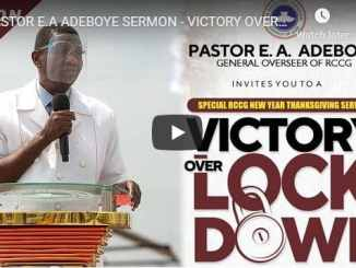 RCCG Sunday Live Service September 6 2020 With Pastor Adeboye