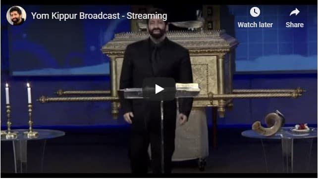 Rabbi Jonathan Cahn - Yom Kippur Broadcast - September 2020