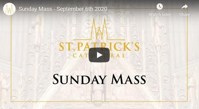 Saint Patrick's Cathedral NYC Live Sunday Mass