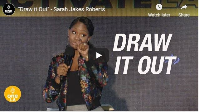 """Sarah Jakes Roberts - """"Draw it Out"""" - September 25 2020"""