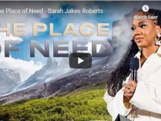 Sarah Jakes Roberts - The Place of Need - September 2020