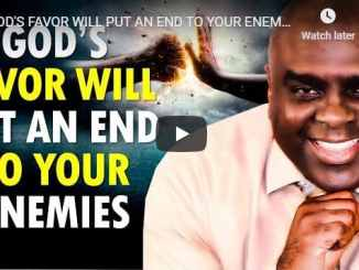 Sean Pinder - God's Favor Will Put An End To Your Enemies