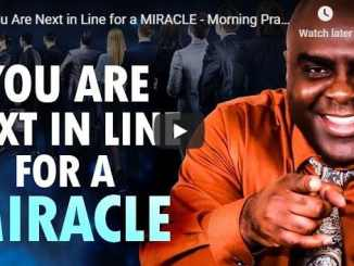 Sean Pinder - You Are Next in Line for a MIRACLE