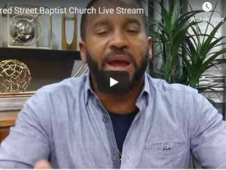 Alfred Street Baptist Church Sunday Service October 11 2020