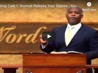 Bishop Bronner Sunday Live Service October 18 2020