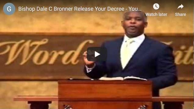 Bishop Bronner Sunday Live Service October 18 2020