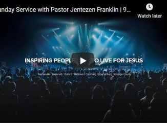 Free Chapel Sunday Live Service October 18 2020