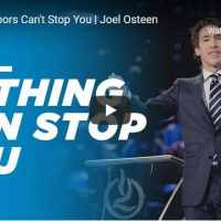 Joel Osteen - Closed Doors Can't Stop You - October 20 2020