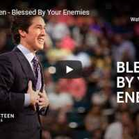 Joel Osteen - Blessed By Your Enemies - October 28 2020