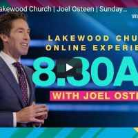Lakewood Church Sunday Live Service October 18 2020