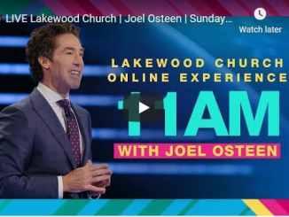 Lakewood Church Sunday Live Service October 25 2020