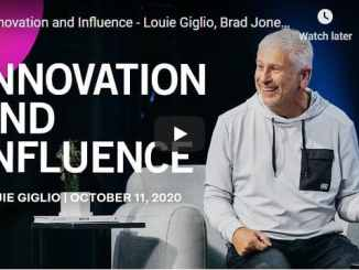 Louie Giglio, Brad Jones & Bobby Gruenewald - Innovation and Influence