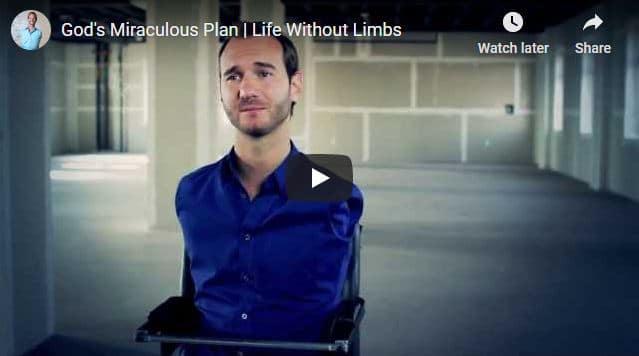 Nick Vujicic - God's Miraculous Plan