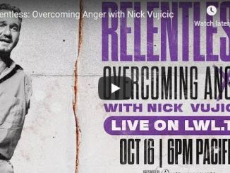 Nick Vujicic - Overcoming Anger