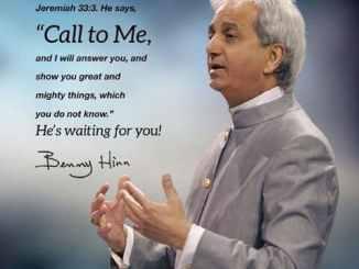 Pastor Benny Hinn