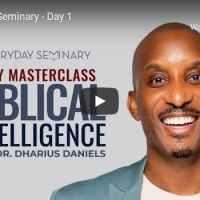 Pastor Dharius Daniels - EveryDay Seminary - Day 1 - October 2020