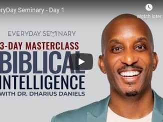Pastor Dharius Daniels - EveryDay Seminary