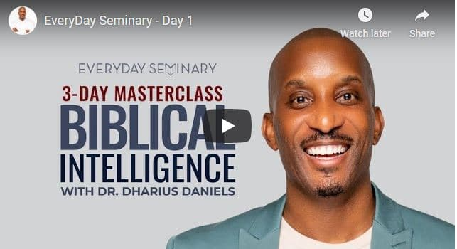 Pastor Dharius Daniels - EveryDay Seminary