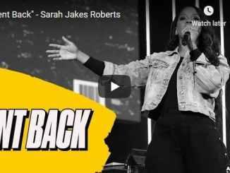 Sarah Jakes Roberts Sermon - Sent Back