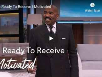 Steve Harvey - Be Ready To Receive