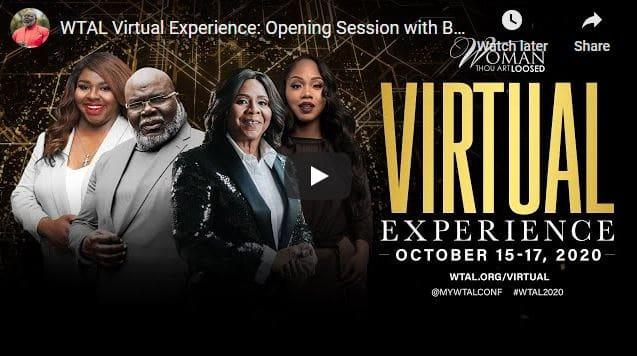 TD Jakes - WTAL Virtual Experience 2020