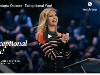 Victoria Osteen Sermon - Exceptional You