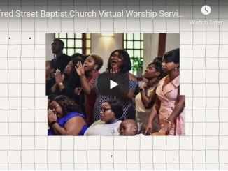 Alfred Street Baptist Church Sunday Live Service November 15 2020