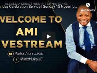 Alph Lukau Sunday Live Service November 15 2020
