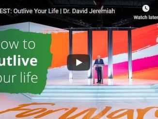 David Jeremiah Sunday Sermon November 8 2020
