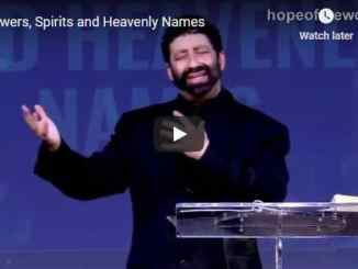 Jonathan Cahn Latest Sermon - Powers, Spirits and Heavenly Names