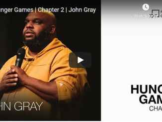 Pastor John Gray Sermon - Hunger Games
