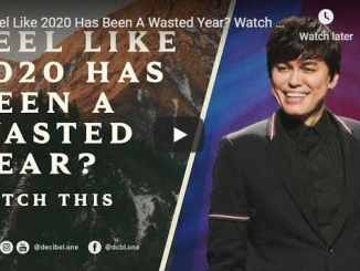 Pastor Joseph Prince Sermon - Feel Like 2020 Has Been A Wasted Year?