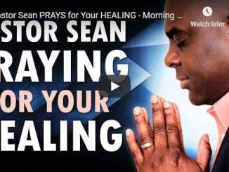 Pastor Sean Pinder Morning Prayer November 20 2020