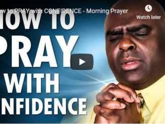 Pastor Sean Pinder Morning Prayer November 9 2020