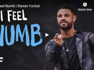 Steven Furtick Sermon - I Feel Numb
