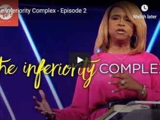 Pastor Taffi Dollar Sermon - The Inferiority Complex
