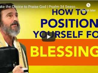 Rabbi Schneider Sermon - Make the Choice to Praise God