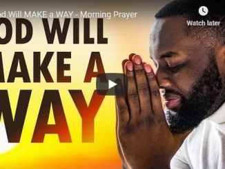 Sean Pinder Morning Prayer November 18 2020