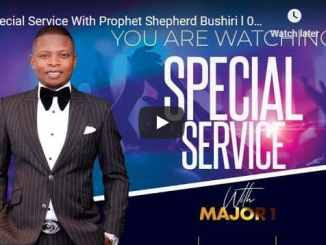 Special Service With Prophet Shepherd Bushiri November 4 2020